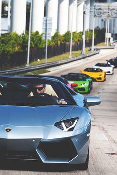 Lamborghini meeting.