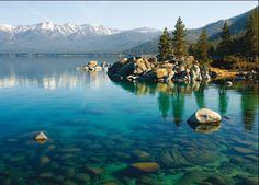 Lake Tahoe, California!! Scuba dived here:)