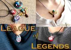 League of Legends Charms by GandaKris.deviantart.com on @deviantART
