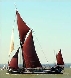 Thames sailing barge, The Xylonite
