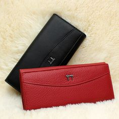 Only $12.15 , Qianxilu Brand Genuine Leather Wallet for Women,High Quality Coin Purse Female