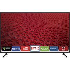 "VIZIO - E-Series 50"" Class (49.5"" Diag.) - LED - 1080p - Smart - HDTV - Black - Front Zoom = $529"