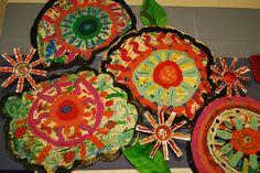 Recycled Flowers by paintedpaper, via Flickr