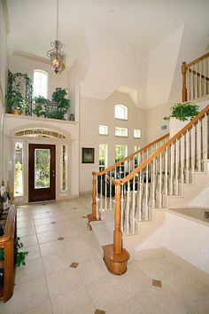 Above Door Decor on Pinterest Two Story Foyer Plant
