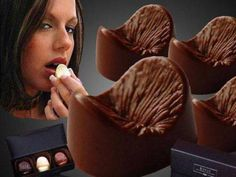 Butthole Shaped Chocolates