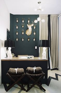 accent wall.