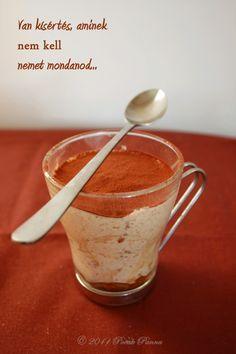 Pocak Panna paleo konyhája: Tiramisu - egy régen várt recept (paleo)