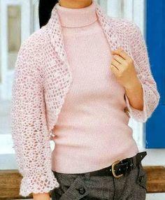 Stylish Easy Crochet: Crochet Patterns Of Beautiful Shrug