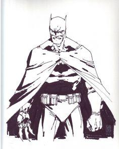 Batman by Giuseppe Camuncoli *