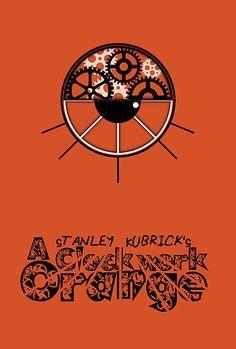 clockwork orange poster minimalist - Google Search
