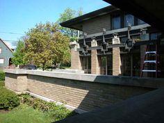 Органическая архитектура: Фрэнк Ллойд Райт (Frank Lloyd Wright): Meyer May House, Grand Rapids, Michigan (Дом Майера Мея, Гранд-Рэпидс, Мичиган), 1908