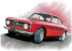 Alfa Romeo Giulia GTA sprint. by Marco Catalano