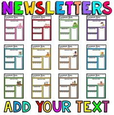 How To Make A Newsletter Template In Word Pinterest Newsletter - How to make a newsletter template