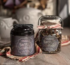 Personalize your homemade or even purchased food and beverage gifts with these chalkboard style fall labels. These are perfect for a host or hostess gift, a birthday gift or to add a special touch to a Thanksgiving treat.