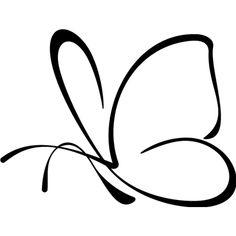 Pegatina mariposa en vinilo adhesivo para coche