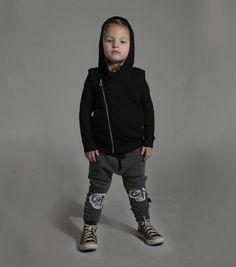 patch md skull baggy pants - NUNUNU WORLD