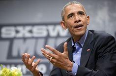 Obama addresses 'influencers' at SXSW http://www.chicagotribune.com/entertainment/movies/ct-sxsw-obama-film-interactive-phillips-20160311-column.html#utm_sguid=164182,bd9ffb5a-e187-a5ce-7159-1ce8ddc44d76