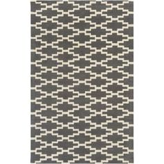 Artistic Weavers Transit Clark Hand-Tufted Gray/Ivory Area Rug Rug Size: 4' x 6'