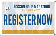 Wyoming half marathon? JacksonHoleMarathon ~ possibly in the running Sept 5, Kayla, Blakely and Danelle you ladies up for it?