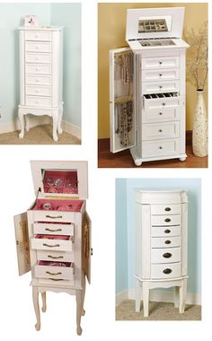 Stand Alone Jewelry Box Best Choice Products Mirrored Jewelry Cabinet Armoire W Stand Rings