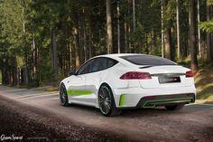 NOWOŚĆ od = Mansory =!  Pakiet modyfikacji dla Tesla Model S, to przede wszystkim nowy zestaw aerodynamiczny oraz 22 calowe felgi aluminiowe. Całość utrzymana w niezwykle dobrym stylu, świetnie podkreślająca zalety i cechy elektrycznej Tesli!  Już niedługo do nabycia również w GranSport - Luxury Tuning & Concierge! http://gransport.pl/index.php/mansory.html