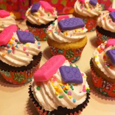 LEGO Friends Party - Cupcakes