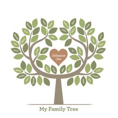 art prints - Family Tree of Love by Jessie Steury