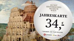 Jahreskarte Kunsthistorisches Museum Wien, Fleas, Poster, Vienna, Austria, Activities, Annual Pass, Museum Of Art, Billboard