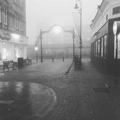 A real pea-souper #fog in #Harrogate today. #ukweather