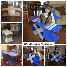 DIY Airplane Costume