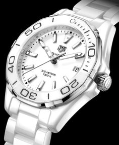 6a9e427a8993 Updated TAG Heuer Aquaracer 300M   Full-Ceramic Aquaracer Lady 300M Watches  - by Zen