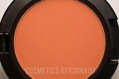 http://www.cosmeticsaficionado.com/mac-honey-jasmine-powder-blush-review-swatches/ via @CosmeticsAficionado mac, honey jasmine, all about orange, makeup, powder blush, review, swatches