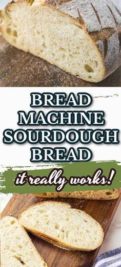 Sour Dough Bread Machine Recipe, Sourdough Bread Machine, Easy Bread Machine Recipes, Best Bread Machine, Bread Maker Recipes, Artisan Bread Recipes, Sourdough Recipes, Sourdough Bread Maker Recipe, Zojirushi Bread Machine