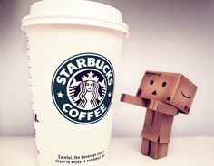 ohhh how I love Starbucks coffee! I make it at home and I LOVE to go to starbucks for coffee. mmmm