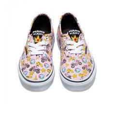 f08297d0da39f6 NIB Vans Mario Bros. Princess Peach Shoes Size 8 Toddler  VANS   PrincessPeach Princess