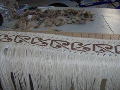 taniko#2 Weaving Patterns, Knitting Patterns, Flax Weaving, Maori Designs, Maori Art, Kiwiana, Weaving Techniques, Tapestry, Quilts