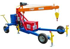 Towable Straddle - Ruger Floor Cranes - Ruger Industries