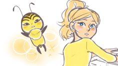 """Chloé's Bumblebee Origins"" Miraculous Ladybug Comic Dub"