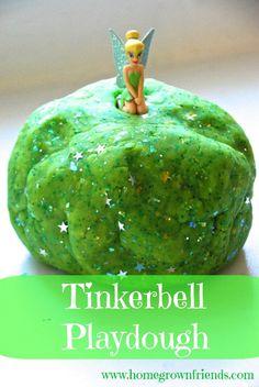 Tinkerbell Playdough