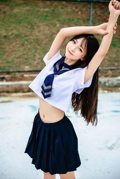 Sweety Girl From Korean Japanese School Uniform, School Uniform Girls, Girls Uniforms, Cute School Uniforms, School Girl Japan, Japan Girl, Japan Japan, School School, Beautiful Japanese Girl
