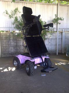 Standing Predator 4 x 4 Power Wheelchair Stand Power, Powered Wheelchair, Pink Camo, Predator, Nice View, Baby Strollers, Chairs, Children, Ideas