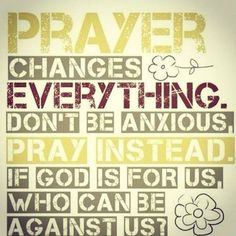 The importance of Prayer !!!