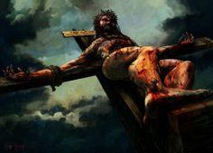 Order print here http://www.inprnt.com/gallery/sideache/crucifixion/  #INPRNT #illustration #print #poster #art