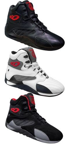 White//Black Carbon Otomix Extreme Trainer Pro Bodybuilding Weightlifting Shoes