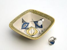 ceramic jewelry from vintage plates