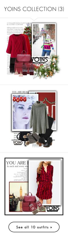 """""""YOINS COLLECTION (3)"""" by barbara-996 ❤ liked on Polyvore featuring yoins, yoinscollection, loveyoins, Polo Ralph Lauren, Lands' End, Kate Spade, Balmain, MANGO, Office and Connor"""