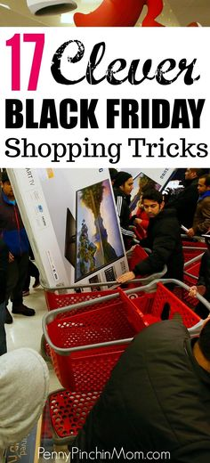 With Black Friday quickly approaching, here are a few shopping tricks you'll want to keep in mind.