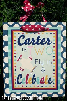 Airplane Birthday Party Decorations  Door by PartyOnPurposeShop, $18.50