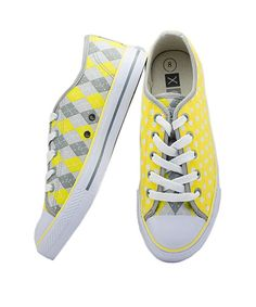 Look at this #zulilyfind! XOLO Shoes Yellow & Gray Sunny Sneaker - Women by XOLO Shoes #zulilyfinds