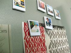 diy polaroid photo magnets